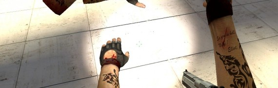 Bloody hands with tatoo.zip