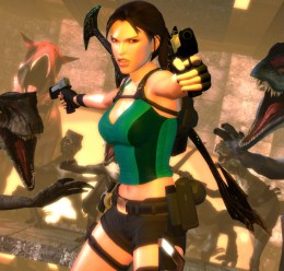 Lara Croft (TRU) and Items For Garry's Mod Image 1