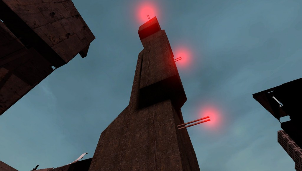 Beta citadel map pack by that robot for Half life 2 architecture