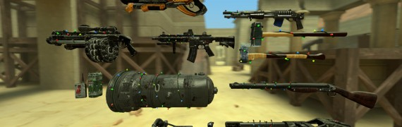 Serious Sam 3 BFE Enh. Weapons