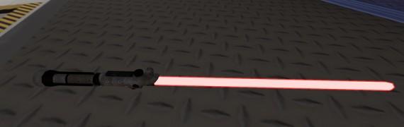 Starkiller lightsaber