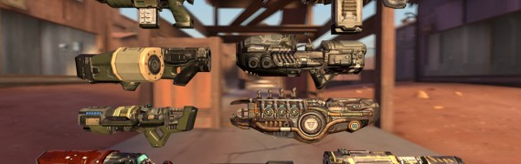 Quake 4 Weapons
