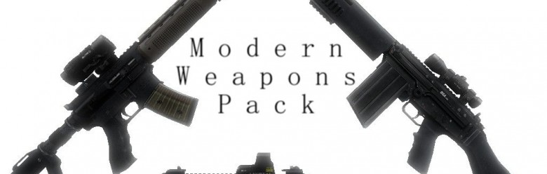 Modern Weapons Pack For Garry's Mod Image 1