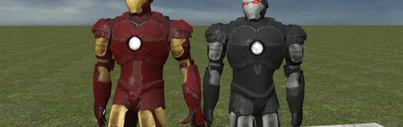 War machine Iron Man skin hexe