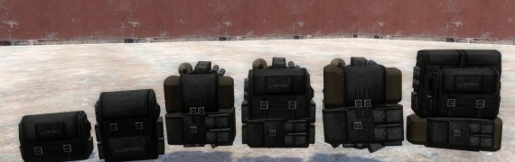 FO3 Custom Backpacks