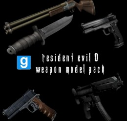 Resident Evil Zero Weapon Mode For Garry's Mod Image 1