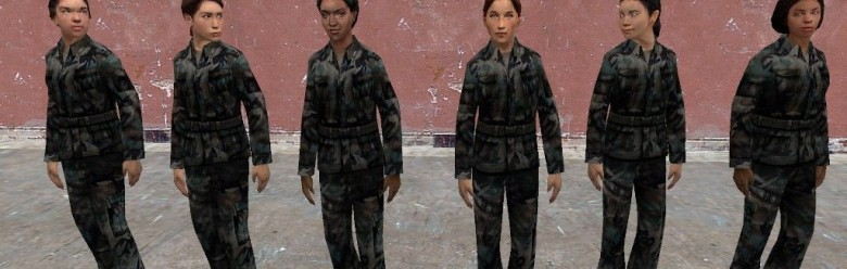 Female Soldiers For Garry's Mod Image 1