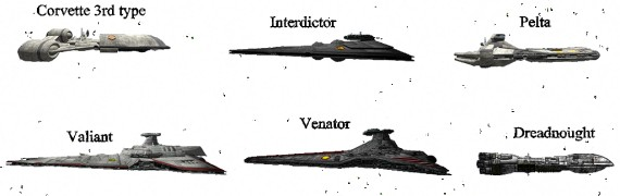 SW EaW Clone Wars mod ships