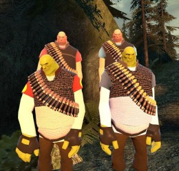 TF2 Heavy Shrek (hexed) For Garry's Mod Image 1