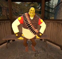 TF2 Heavy Shrek (hexed) For Garry's Mod Image 2