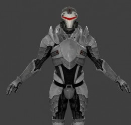 Dragon Knight Armour from ME2 For Garry's Mod Image 3
