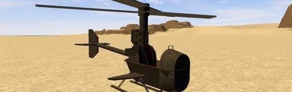 Amplar2's helicopter