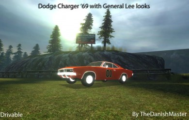 General Lee by TheDanishMaster For Garry's Mod Image 1