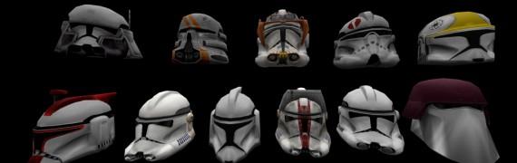 Clone Troopers helmets