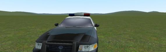 Police car Prop