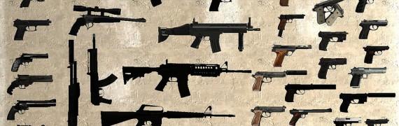 HD Guns Pack