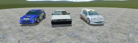 Racing Vehicle pack