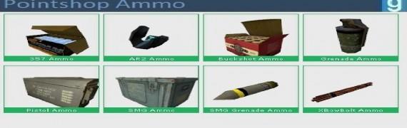 Pointshop Ammo