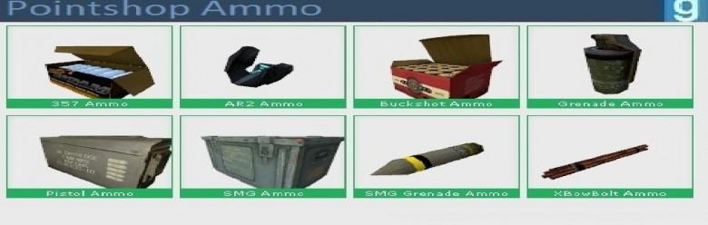 Pointshop Ammo For Garry's Mod Image 1