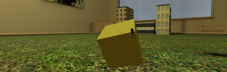 Block-O-Cheese Playermodel For Garry's Mod Image 1