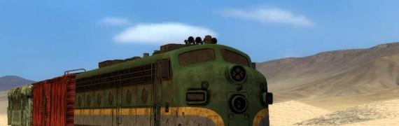 Fallout train props.