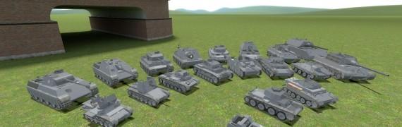 ACF German tank pack