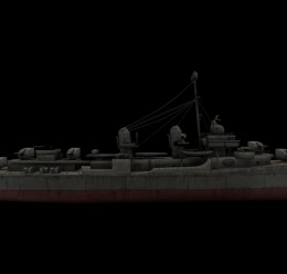 CoD WaW Allied USA ships props For Garry's Mod Image 1