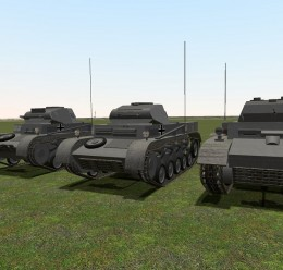 ACF Panzer II Pack For Garry's Mod Image 1
