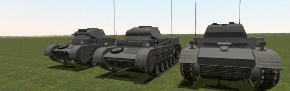 ACF Panzer II Pack