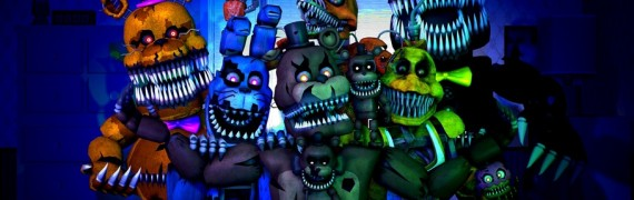 Five night's at freddy's 4 NPC