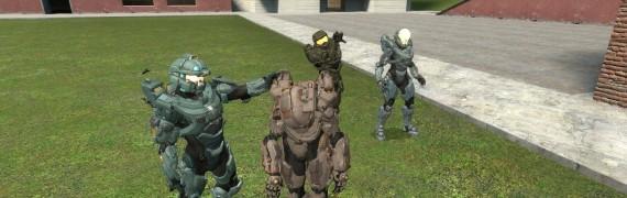 H5 Blue Team Spartan Pack