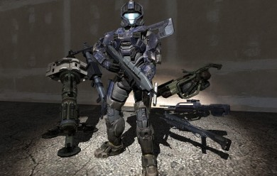 Halo 3 UNSC Weapons For Garry's Mod Image 1