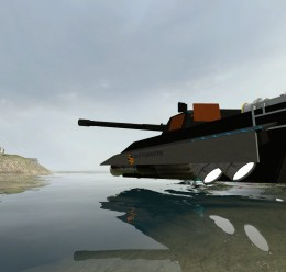HK-6 MKI ACF Powered HoverTank For Garry's Mod Image 1