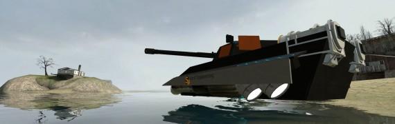 HK-6 MKI ACF Powered HoverTank