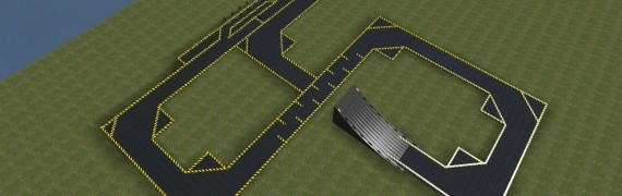 E2 Car Race Track