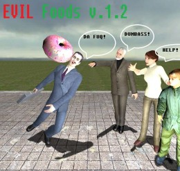 Evil Foods 1.1 For Garry's Mod Image 1