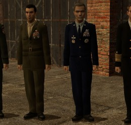 US Military Generals For Garry's Mod Image 1