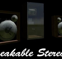 ironcolony's_breakable_stereo. For Garry's Mod Image 1