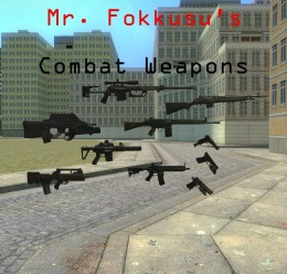 Combat Weapons Pack (Part 1) For Garry's Mod Image 1