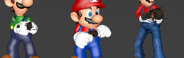 Mario Bros. Playermodels For Garry's Mod Image 1
