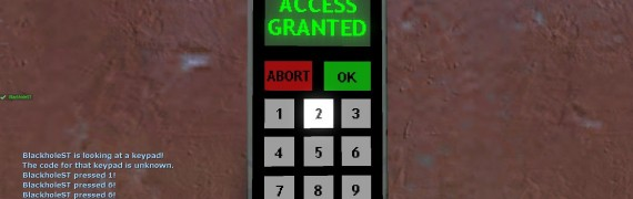 Blackhole's Keypad Hacker