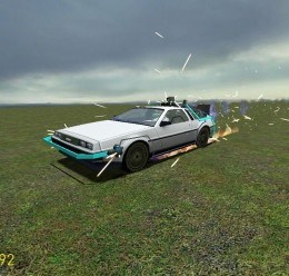 BTTF Delorean replica MK III For Garry's Mod Image 3