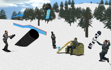 snowboardpack.zip For Garry's Mod Image 1