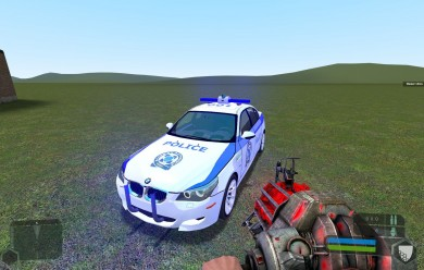 tdm_bmw-m5_police_skin.zip For Garry's Mod Image 1