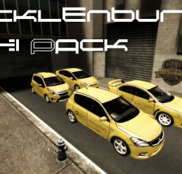 Mecklenburg Taxi Skin Pack For Garry's Mod Image 1