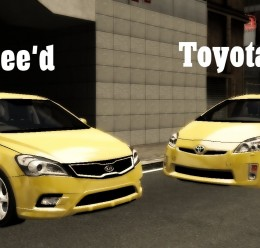 Mecklenburg Taxi Skin Pack For Garry's Mod Image 3