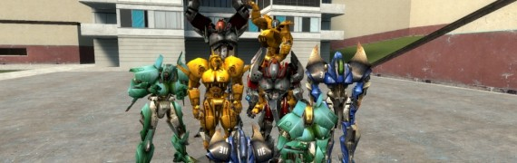 UT2004 Robots Playermodels