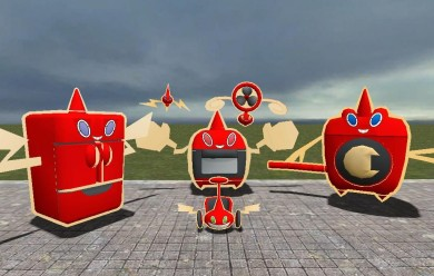 Rotom Ragdolls For Garry's Mod Image 2
