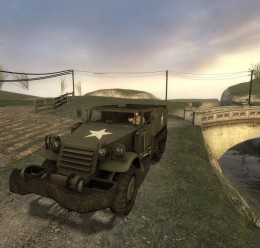 Day of Defeat Halftrack For Garry's Mod Image 2
