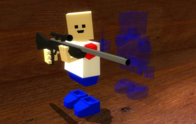 Blockland Shotgun and Sniper For Garry's Mod Image 2